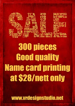 cheap business name cards printing singapore
